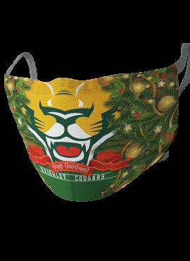 Cougar Christmas Mask