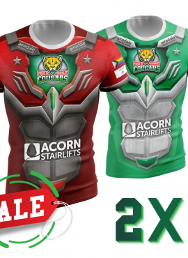 2021 Keighley Cougars HOME & AWAY 2×1